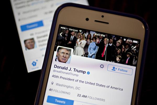 برچسب «ترویج خشونت» توئیتر بر روی پیام جدید دونالد ترامپ
