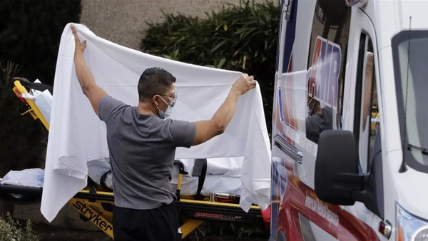 ثبت بیش از ۴۴ هزار مورد ابتلا به کرونا در آمریکا طی ۲۴ ساعت گذشته
