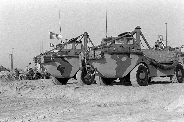 LARC-V؛ قایق چرخ دار ارتش آمریکا! (+تصاویر)