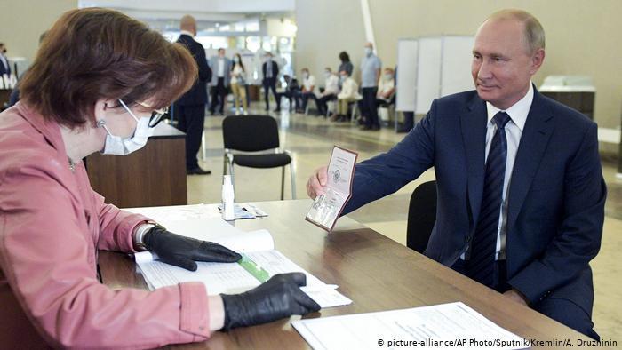 رهبری پوتین بر روسیه تا سال ۲۰۳۶ تضمین شد
