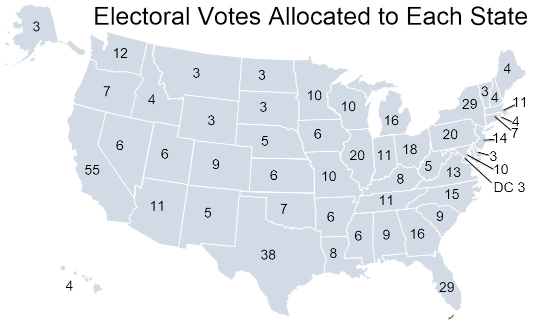 آیا رئیس جمهور آمریکا با رأی مردم انتخاب می شود؟  سازوکار انتخابات آمریکا؛ از رای مردم تا رای الکترال+ جدول و نمودار 1113664 443