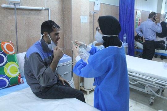 ۷۰ مصدوم در حادثه پتروشیمی ماهشهر
