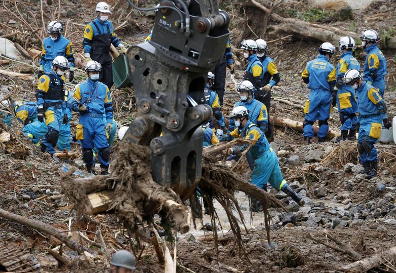سیل ژاپن 2020 در کرونا