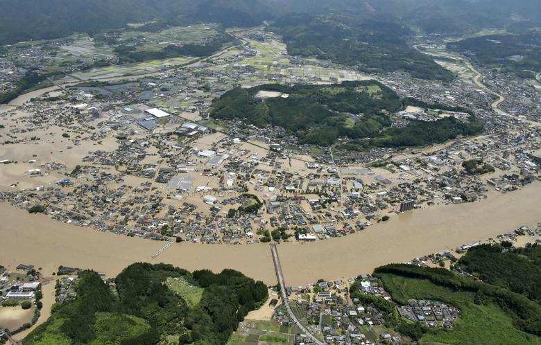 سیل ژاپن کرونا 2020