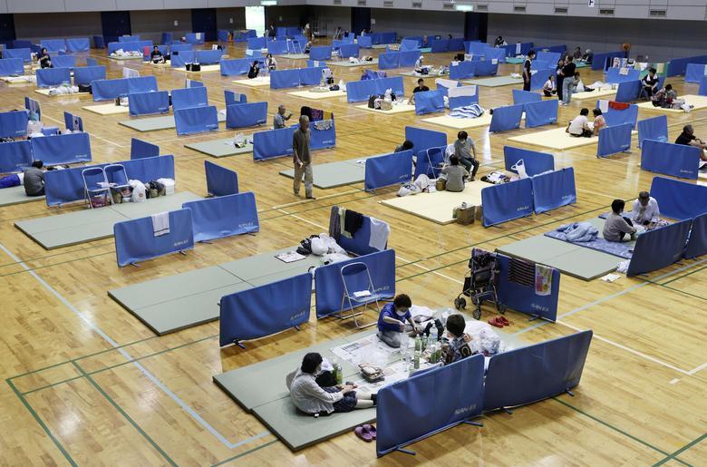 امدادرسانی ژاپن سیل
