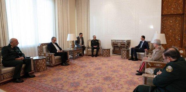 سرلشکر باقری با بشار اسد
