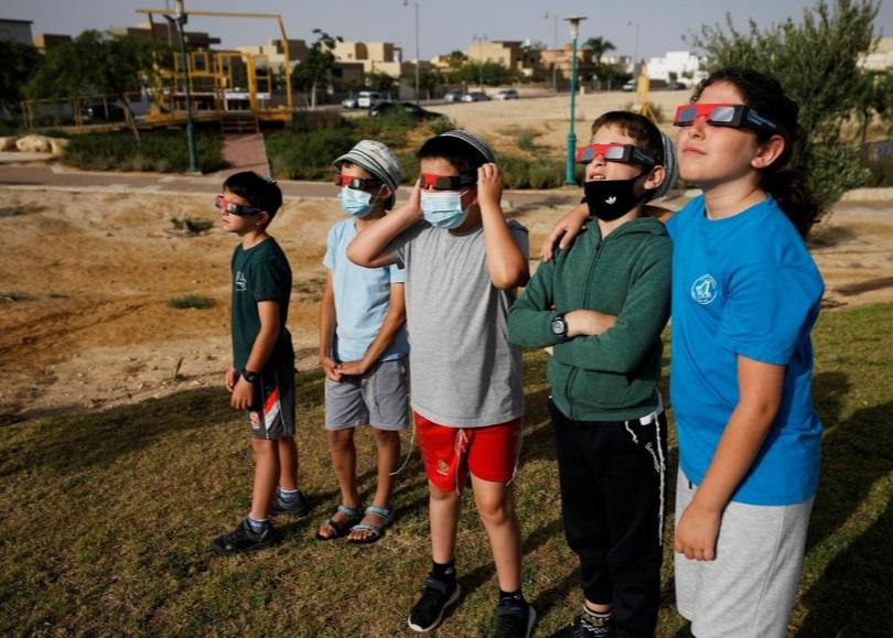 خورشیدگرفتگی اسرائیل