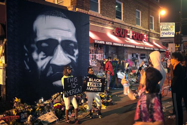 قتلگاه جورج فلوید (+عکس)