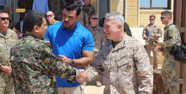 فرمانده سنتکام آمریکا وارد سوریه شد