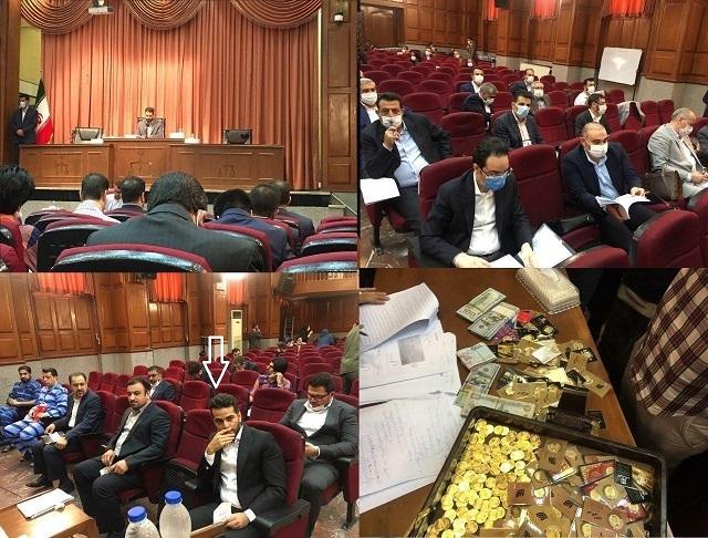 اولین جلسه دادگاه مدیران سابق بانک مرکزی/