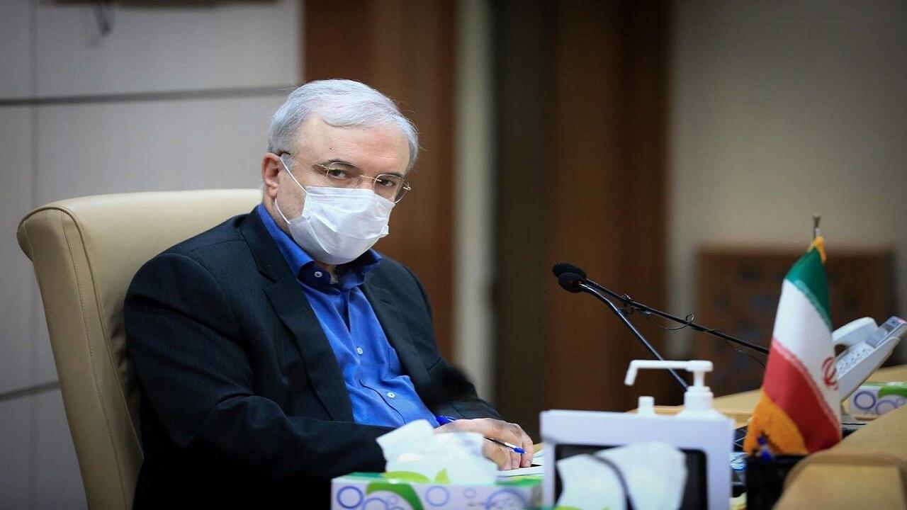 وزیر بهداشت: ویروس کرونا از طریق هوا منتقل نمیشود