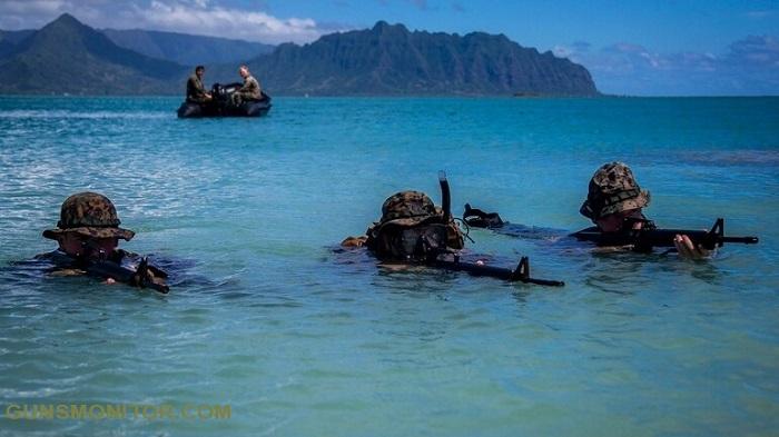 از غواصی در اوکیناوا تا مانور آبی در هاوایی! (+تصاویر)