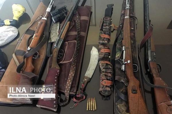 انهدام باند قاچاق سلاح به ایران و کشف ۲۰۰ قبضه اسلحه جنگی در اصفهان