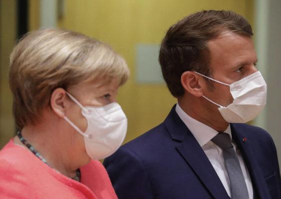 سران اروپا ماسک