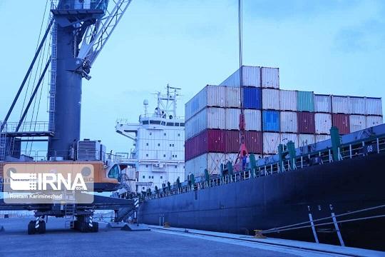 ارسال محموله ترانزیتی افغانستان از طریق بندرچابهار به چین