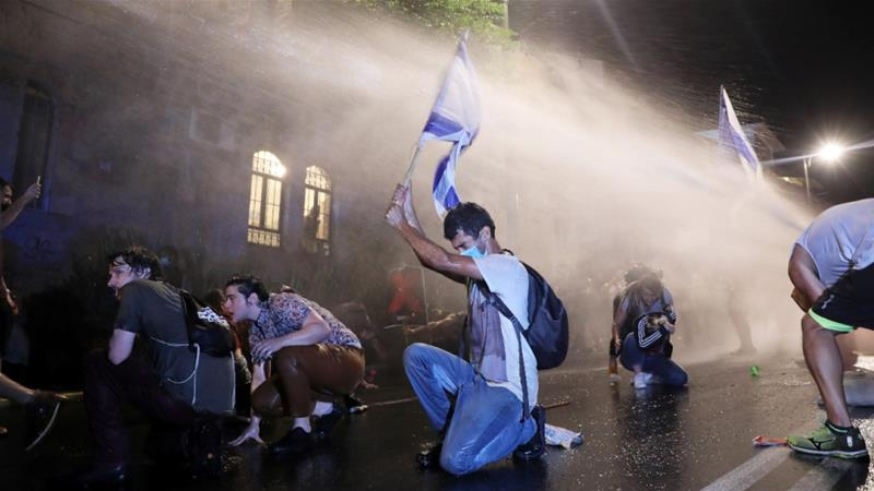 برگزاریدادگاه نتاناهو در میان اوجگیری تظاهرات در اسرائیل (+عکس)