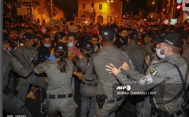 تظاهرات  اسرائیل علیه نتانیاهو