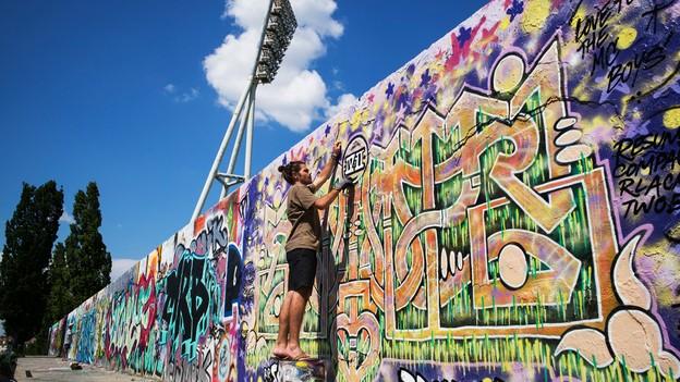 نقاشی روی دیوار برلین