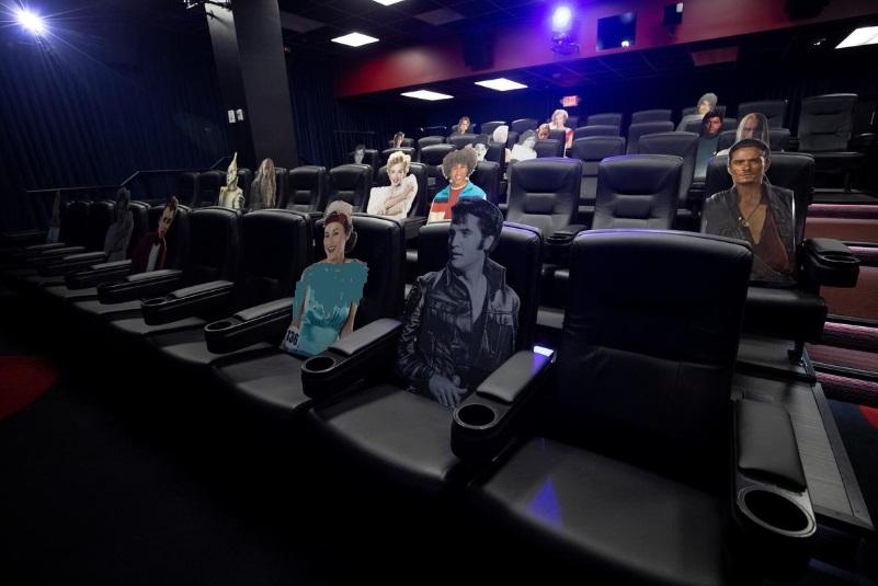 ابتکار سینمای آمریکایی برای فاصله اجتماعی