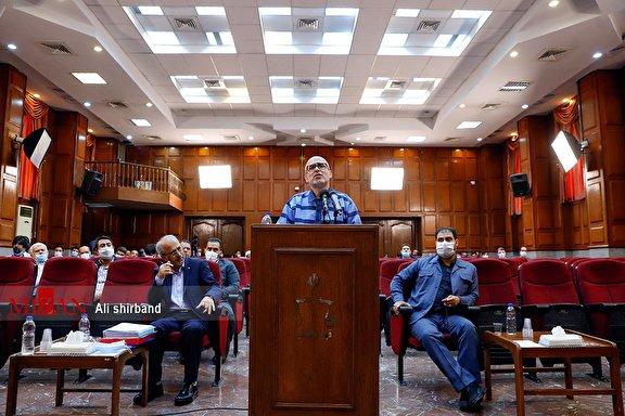 ششمین جلسه رسیدگی به اتهامات اکبر طبری