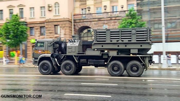 خودروهاي نظامي برتر روسیه در مراسم روز پيروزي سال 2020 (+تصاویر)