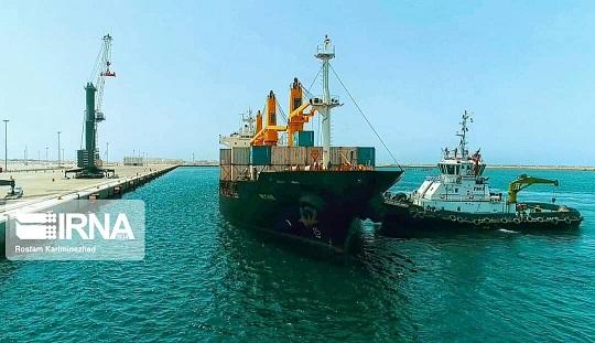 ورود ۱۴ کشتی اختصاصی ویژه کالاهای اساسی افغانستان به بندرچابهار