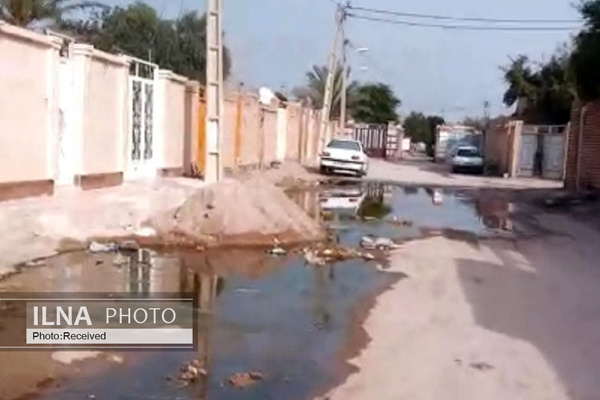 وضعیت فاضلاب خرمشهر بحرانیتر از اهواز/ ورود فاضلاب به خانههای مردم