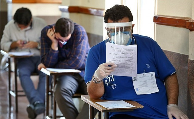 روایت یک داوطلب آزمون دکترا از زیر پا گذاشتن پروتکل های بهداشتی