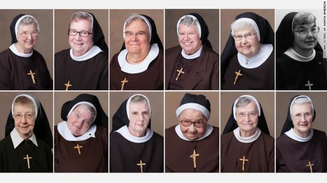 فوت سریالی 13 راهبه آمریکایی پس از شرکت در مراسم مذهبی(+عکس)