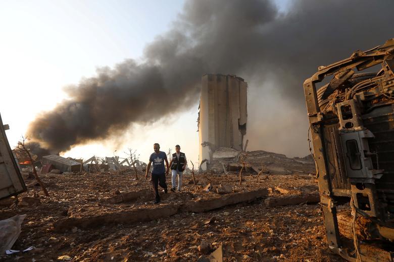 لبنان پس از انفجار