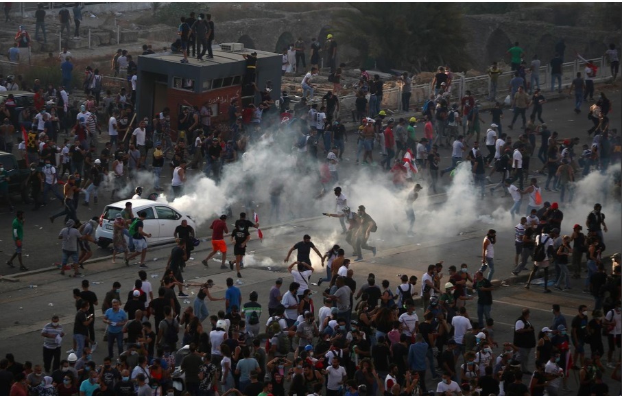 اعتراضات لبنان پس از انفجار