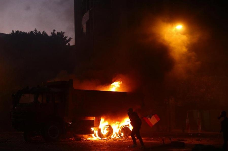 انجار بیروت اعتراضات لبنان