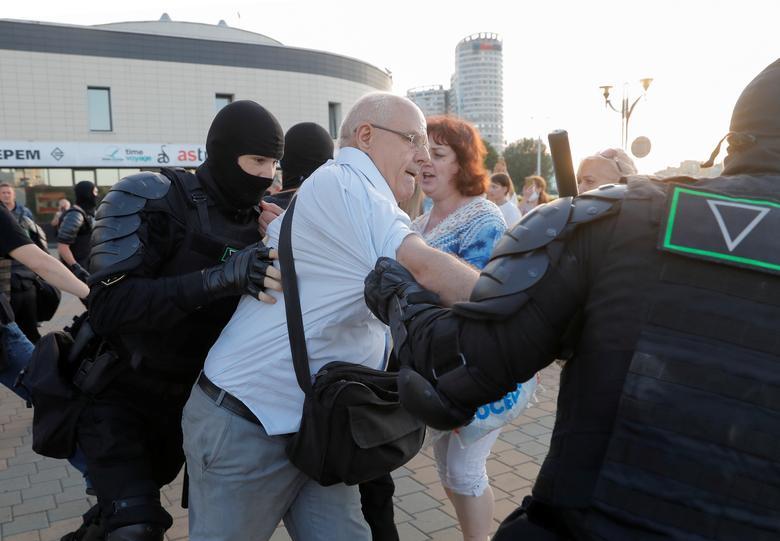 اعتراضات بلاروس عکس
