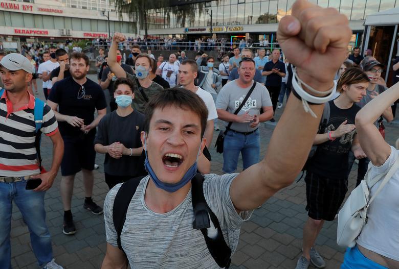 اعتراضات بلاروس