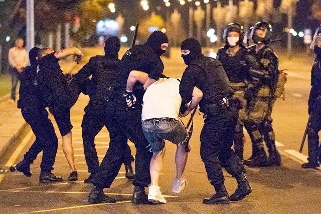 اعتراضها در بلاروس
