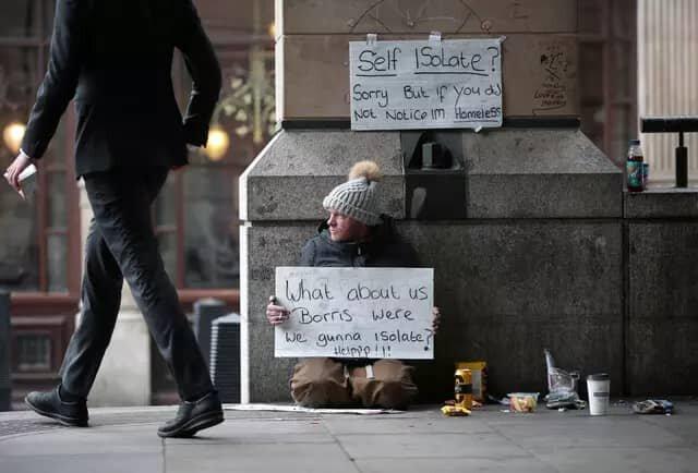 گرفتاری بیخانمانها