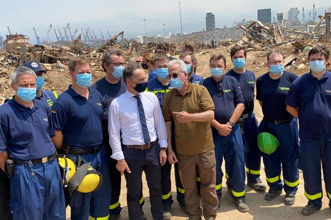 بازید وزیر خارجه آلمان از بیروت