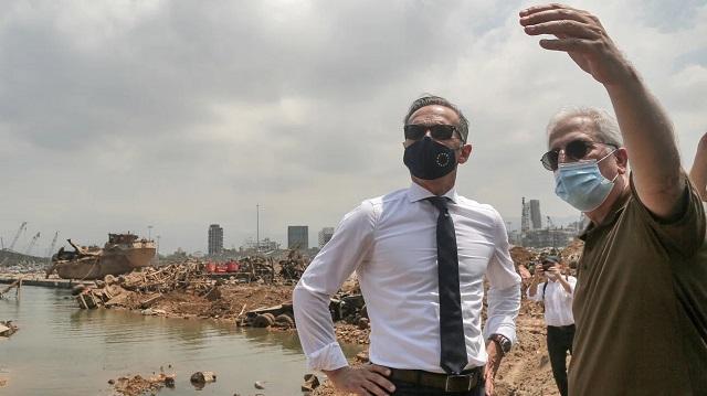 وزیر خارجه آلمان در بیروت