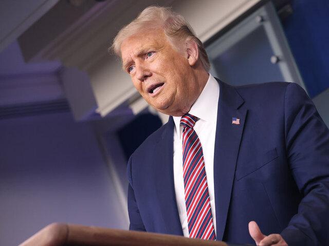 ترامپ: پلوسی و شومر مردم را گروگان گرفته اند/ دموکرات ها مشکل انتخابات هستند نه چین و روسیه