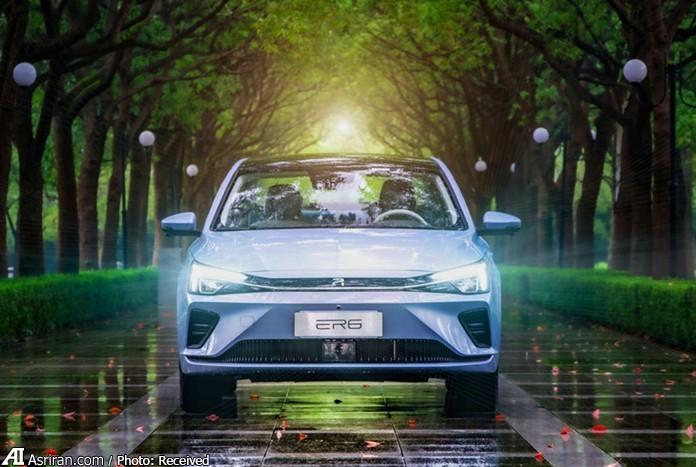سدان  R ER6؛ اولین خودروی تمام الکتریکی برند چینی