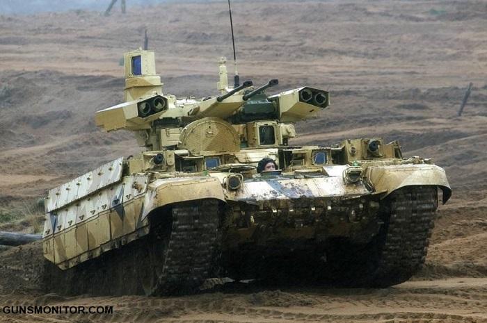 BMPT ترمیناتور؛ محصولی متفاوت از صنایع نظامی روسیه(+تصاویر)