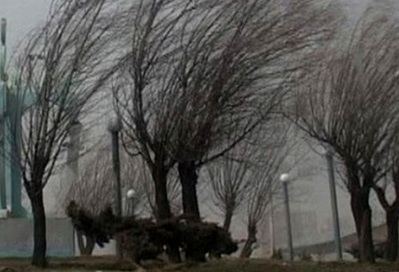 وزش شدید باد، بارش باران واحتمال آبگرفتگی در 11 استان کشور