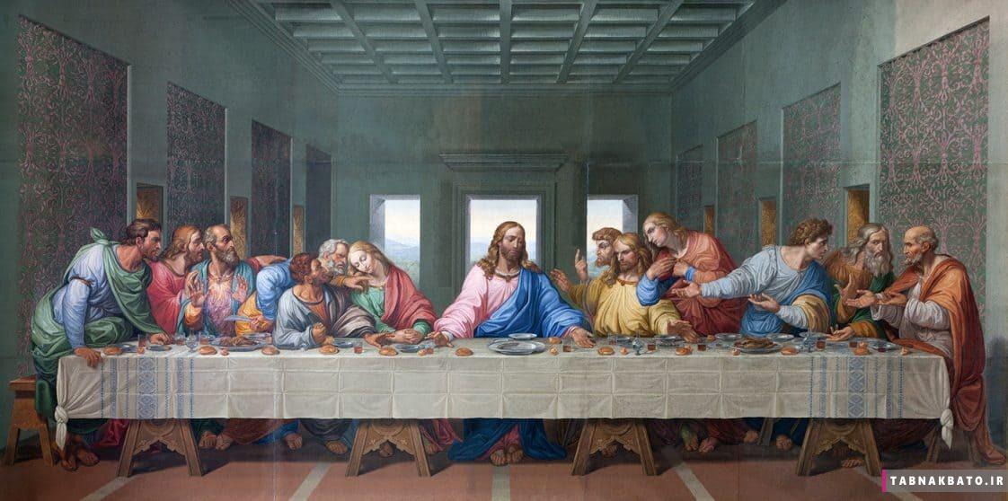 نقاشی اصلی آخرین شام لئوناردو داوینچی. عکس: Shutterstock
