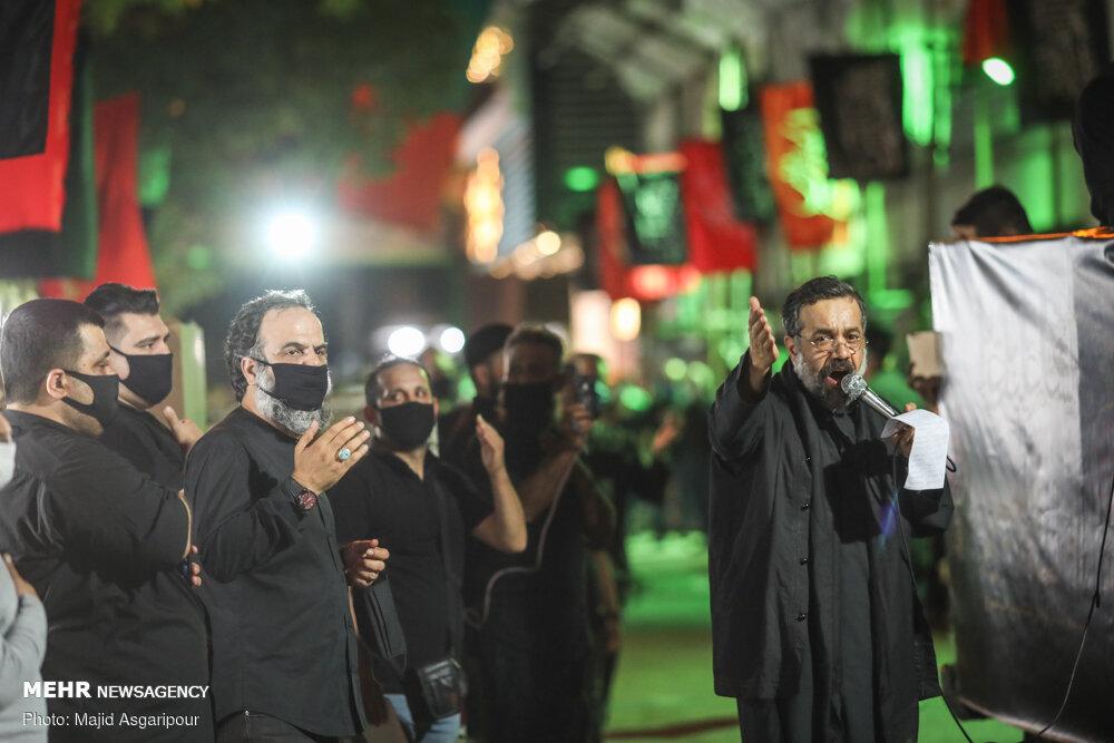روضه خوانی محمود کریمی در کوچهها؛ ایدهای جذاب در متفاوتترین محرم دوران