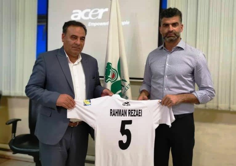 وزیر خط دفاعی فوتبال ایران سرمربی شد