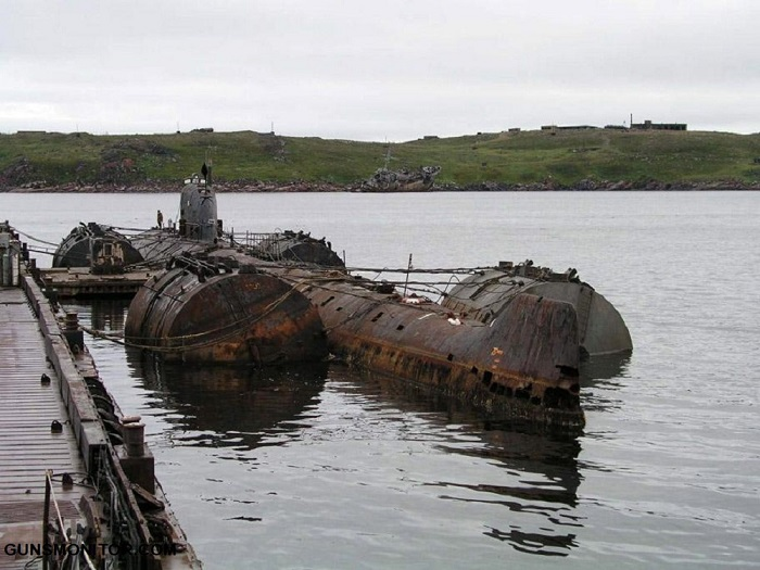 چرنوبیل های آهسته روسیه در اعماق بارنتز! (+تصاویر)
