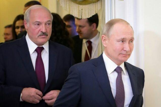 پوتین و لوکاشنکو