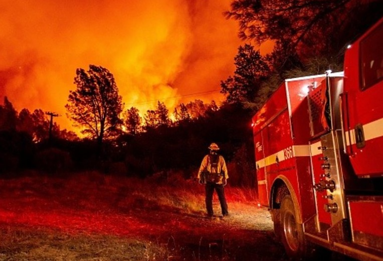 آتش سوزیکالیفرنیا انتخابات بایدن ترامپ