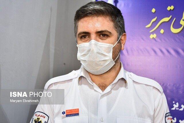 ۱۲۰۰ بار مزاحمت یک نفر برای اورژانس تبریز