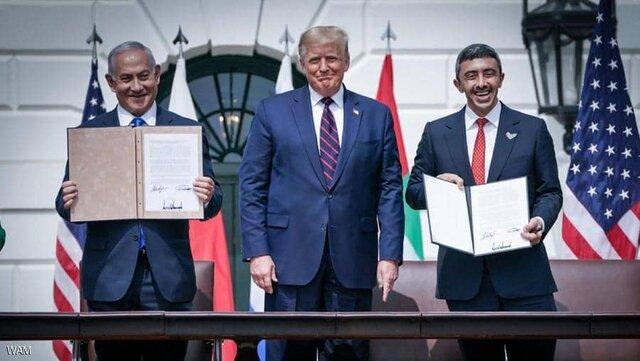 بندهای توافق صلح امارات و اسراییل